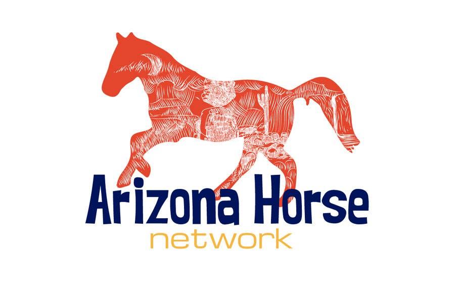 Kilpailutyö #36 kilpailussa Design a Logo for Arizona Horse Network