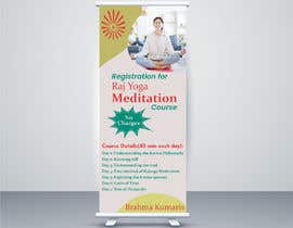#24 for Standee design for meditation course registration by ShivamPancholi