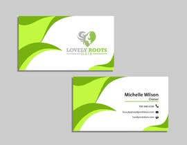 Nro 869 kilpailuun Business Card Design for Hair Company käyttäjältä Useful6923
