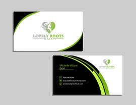 Nro 873 kilpailuun Business Card Design for Hair Company käyttäjältä Useful6923