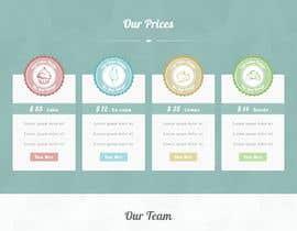 #127 para Cupcake Company Responsive Website Template por faroo202