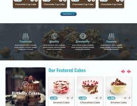 #80 cho Cupcake Company Responsive Website Template bởi mjmarazbd