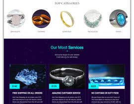 #100 for Design a website for selling rare gemstones and expensive jewelry by shamim2000com