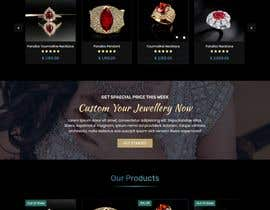 #104 for Design a website for selling rare gemstones and expensive jewelry by mjmarazbd
