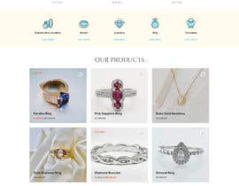 nº 83 pour Design a website for selling rare gemstones and expensive jewelry par RayanMjee