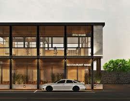 nº 13 pour Facade building - RESTAURANT par krizianik