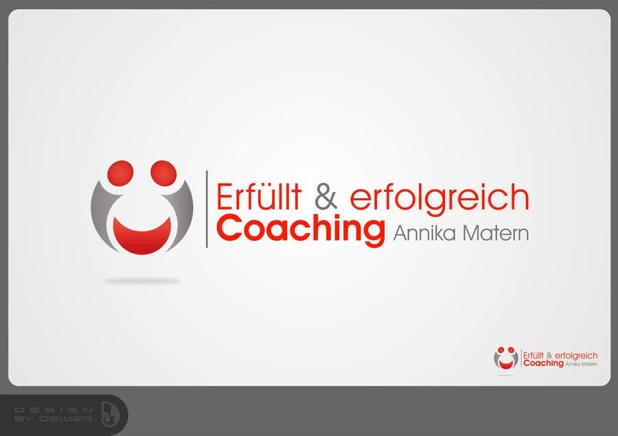 "#75 for Design a Logo ""Erfüllt & erfolgreich Coaching"" !Please read the text by Dewieq"