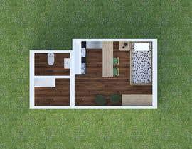 #59 for Floorplan for small studio af EKRAMUL825