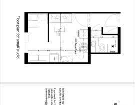 #55 for Floorplan for small studio af Bram90
