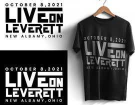 nº 444 pour Live on Leverett Tee Vintage Concert shirt design par kaif392