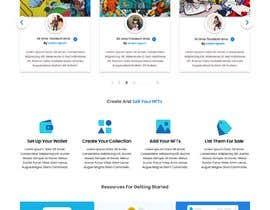 #16 for Design UX UI for NFT Marketplace af abulhasan12sa