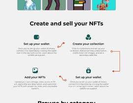 #47 for Design UX UI for NFT Marketplace af muadzabidin