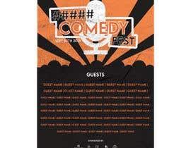 #7 para Poster for a Stand-Up Comedy Festival por shafirafarah