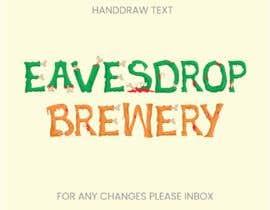 Nro 335 kilpailuun Eavesdrop Brewery Halloween Font käyttäjältä DesignerzEye