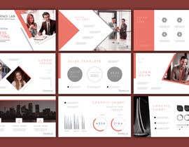 Nro 29 kilpailuun Powerpoint Template Design käyttäjältä rasidulislam699