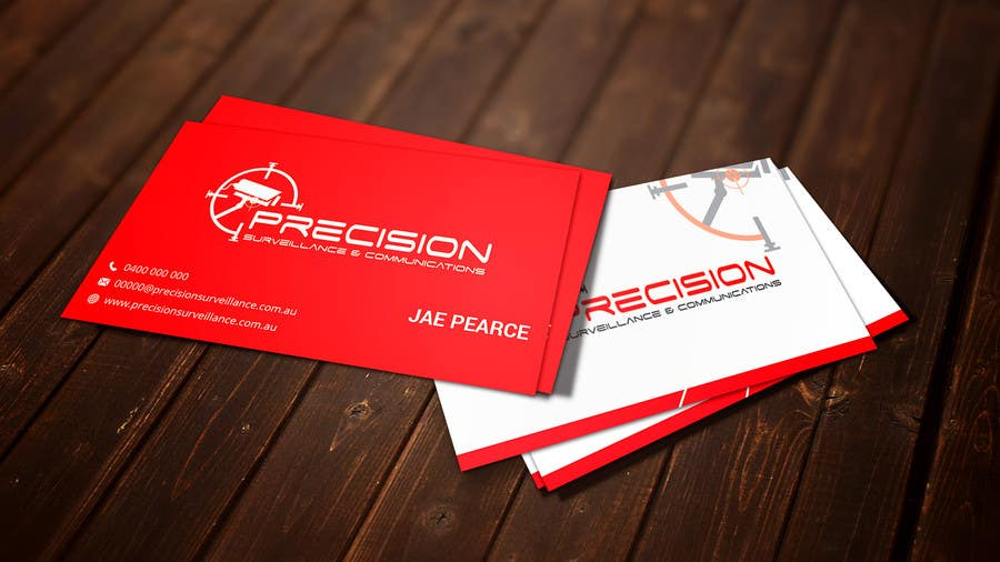 Contest Entry #50 for Design some Business Cards for CCTV installing company
