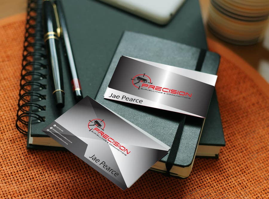 Inscrição nº 40 do Concurso para Design some Business Cards for CCTV installing company