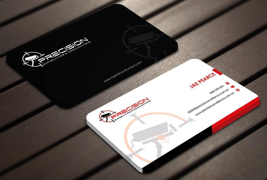 Inscrição nº 4 do Concurso para Design some Business Cards for CCTV installing company