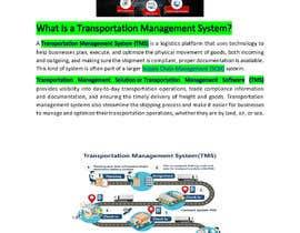SouravSarkar001 tarafından Content Writer for Transportation Management System (TMS) - 20/09/2021 10:44 EDT için no 14