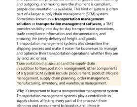 antormondol78 tarafından Content Writer for Transportation Management System (TMS) - 20/09/2021 10:44 EDT için no 4