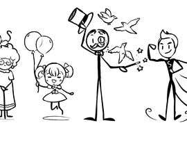 #18 for stick figure character art af kozzypiece9