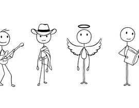 #15 for stick figure character art af mdsrahmans1234