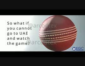 Arcodtex tarafından Build a promo video for India vs Pak world cup t20 live telecast event for our club için no 10