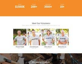 #17 for Website MOCK for a charity organization af isandipanmondal