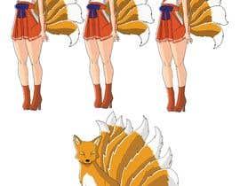 #23 cho Design A Kitsune Character bởi JohnGoldx
