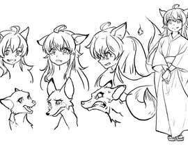 #32 cho Design A Kitsune Character bởi berragzakariae