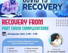 Nro 21 kilpailuun Creative for a Workshop on Curing Post Covid Health Issues käyttäjältä akibbepari