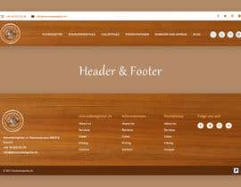 #27 for Header & Footer Design by Nibraz098