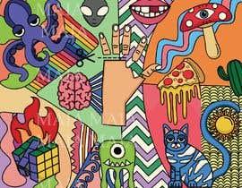 Nro 72 kilpailuun Design a modern abstract illustration for a puzzle käyttäjältä maiaras25