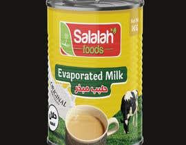 Nro 43 kilpailuun Packaging design for Evaporated Milk käyttäjältä shiblee10