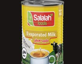 Nro 46 kilpailuun Packaging design for Evaporated Milk käyttäjältä shiblee10