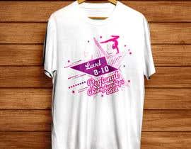 #215 cho Tshirt Design for Women's Gymnastics Championship bởi sharifmozumder99