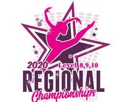 #167 cho Tshirt Design for Women's Gymnastics Championship bởi Rheanza