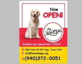 Nro 718 kilpailuun Vet Clinic flyer käyttäjältä vijaypatani01