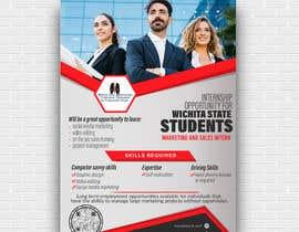 #104 para Flyer for interns por Najmur
