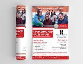 #125 para Flyer for interns por mesbahurrahman2