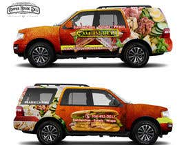 #73 for Concept Vehicle wrap (think food truck) by nguyengiabao86