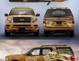 #70 for Concept Vehicle wrap (think food truck) by SAKTI2
