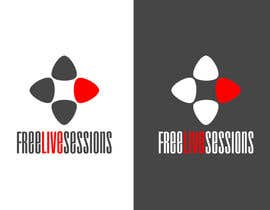 #109 for Logo for FreeLiveSessions.TV (live music outdoors) af roedylioe