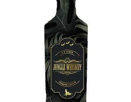 #28 для Create Photoshop mockup with new lable over existing bottle от kalabindu7hills8