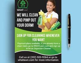 shohelhasan01 tarafından Design Dorm Cleaning Flier için no 50