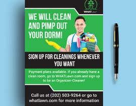 shohelhasan01 tarafından Design Dorm Cleaning Flier için no 53