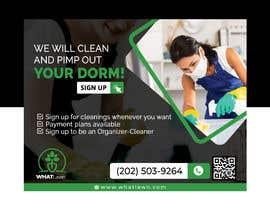 fatema4093 tarafından Design Dorm Cleaning Flier için no 58