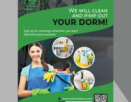 fatema4093 tarafından Design Dorm Cleaning Flier için no 63