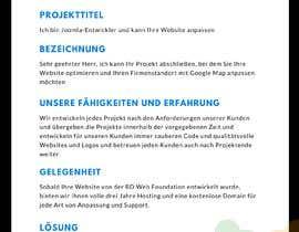 #4 for Website überarbeiten af webdeveloperAlal
