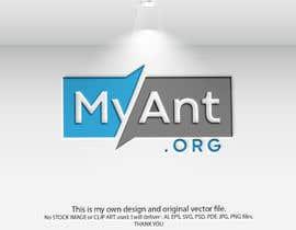 Nro 300 kilpailuun Logo for MyAnt.org: käyttäjältä jannatun394
